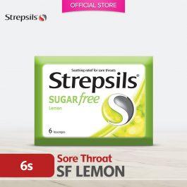 Strepsils Sugar Free Lemon 6's