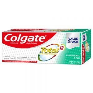 Colgate Total Toothpaste Valuepack 150g x 2 (Professional Clean)