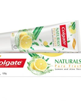 Colgate Naturals Pure Fresh (Lemon & Aloe Vera) Toothpaste 120g