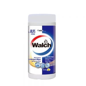 Walch Multi Purpose Disinfectant Wipes Fresh Lemon 42 pcs