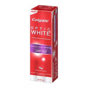 Colgate Optic White Dazzling White Whitening Toothpaste 100g