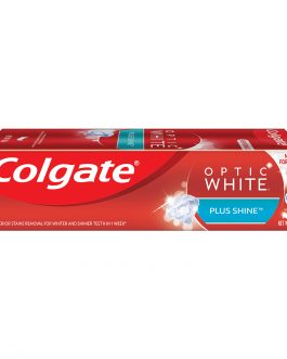 Colgate Optic White Plus Shine Whitening Toothpaste 100g