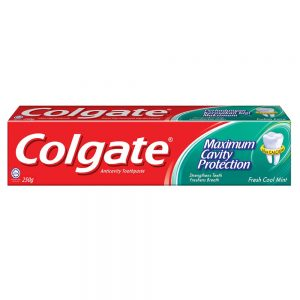 Colgate Maximum Cavity Protection Toothpaste (Fresh Cool Mint) – 250g