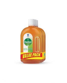 Dettol Antiseptic Liquid 750ml Value Pack Of 3