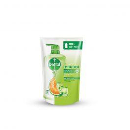 Dettol Shower Gel Lasting Fresh 900ml Value Refill Pouch