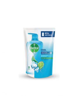 Dettol Shower Gel Cool 900ml Value Refill Pouch