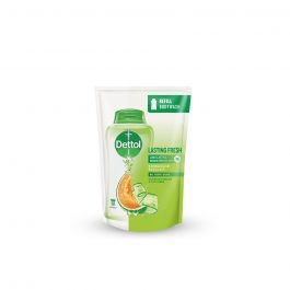 Dettol Shower Gel Lasting Fresh Refill Pouch 450ml