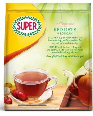 Super Tea Red Dates & Longan Tea Infusions Drink 18G X 20 Sachets – 1675041