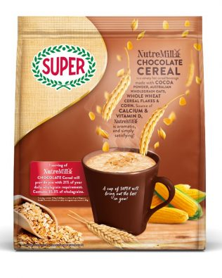 Super NutreMill 3 in 1 Chocolate Cereal 30G X 15 Sachets – 1675068