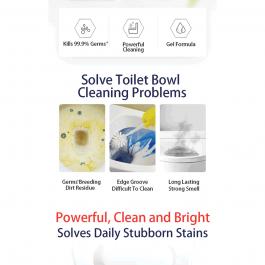BLEACH Toilet Bowl Cleaner Lemon 600ml