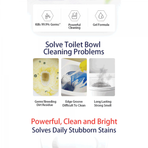 BLEACH Toilet Bowl Cleaner Lavender 600ml