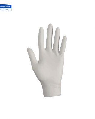 KleenGuard™ G10 Flex Nitrile Ambidextrous Gloves 38525 – white,  M,  1×100 (100 gloves)