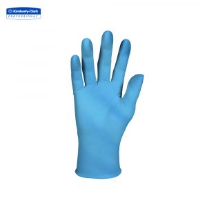 KleenGuard™ G10 Flex Nitrile Ambidextrous Gloves 38519 – Blue,  S,  1×100 (100 gloves)