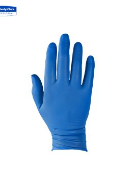 KleenGuard™ G10 Nitrile Ambidextrous Gloves 90097 – Arctic Blue,  M,  1×200 (200 gloves)