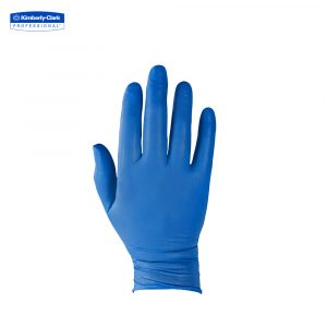 KleenGuard™ G10 Nitrile Ambidextrous Gloves 90096 – Arctic Blue,  S,  1×200 (200 gloves)