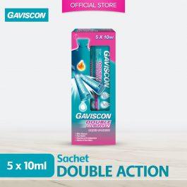 Gaviscon Double Action Liquid Sachet 10ml x 5's