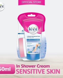 Veet Hair Removal In Shower Dry Sensitive 150g
