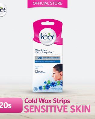 Veet Wax Strip Sensitive (Facial) 20's