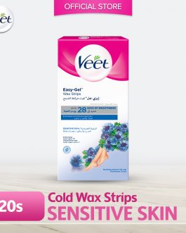 Veet Wax Strip Sensitive 20s