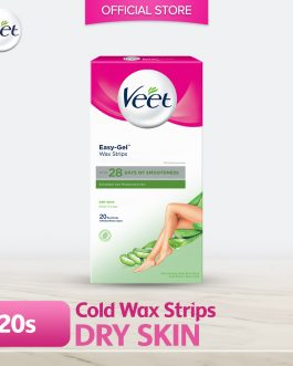 Veet Wax Strip Dry Skin 20's