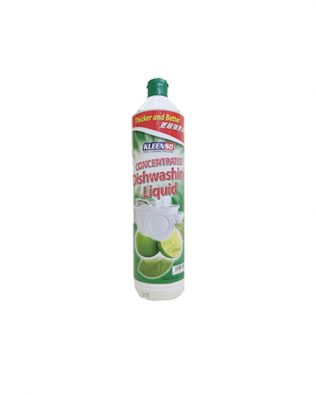 Kleenso Concentrated Dishwashing Liquid 900ml – Lime / Lemon