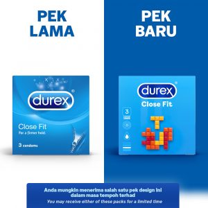 Durex Close Fit 3's