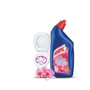 Harpic Active Cleaning Gel 500ml –  Wild Flowers / White & Shine Bleach / Lavender/ Mountain Pine/ Lemon Zest