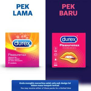 Durex Pleasuremax 3's