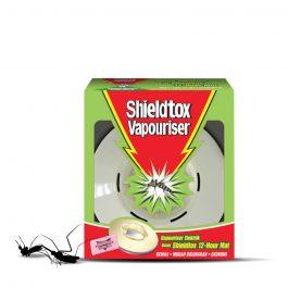 Shieldtox 12 hours Corded Vapouriser Free 12 hours Mat – 30 pieces