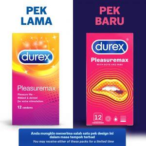 Durex Pleasuremax 12's