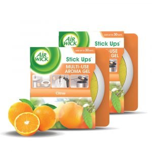 [Value Pack] Air Wick Stick Ups Air Freshener Gel 30g x2 – Lavender / Citrus