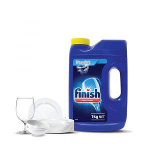Finish Dishwasher Cleaning Lemon Powder – 1KG