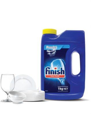 Finish Dishwasher Cleaning Lemon Powder – 1KG