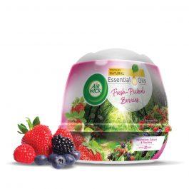 Air Wick Life Scents Air Freshener Scented Gel Cone 180g – Fresh-Picked Berries/Fresh Waters/Aromatic Lavender/Blooming Lemon/Rose