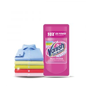 Vanish Fabric Oxi Action Stain Remover Laundry Detergent Powder – 120g