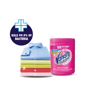 Vanish Fabric Oxi Action Stain Remover Laundry Detergent Powder – 250g / 400g