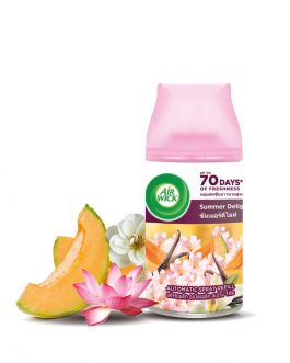 Air Wick Life Scents Air Freshener Pure Freshmatic Refill 250ml – Spring Delight/Summer Delight/Cherry Blossom/Citrus/Floral Bouquet/Lavender/Sweet Lavender