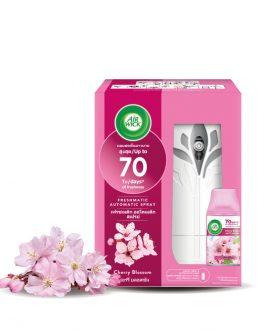 Air Wick Freshmatic Automatic Spray Starter Kit 1pc –  Fresh Water/Cherry Blossom/Aqua Floral/Citrus/Lavender/Summer Delight/Sweet Lavender