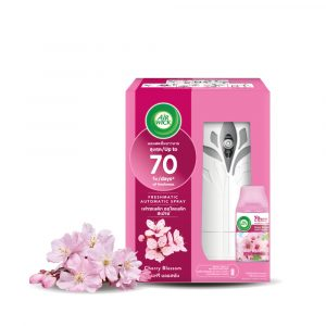 Air Wick Freshmatic Automatic Spray Starter Kit 1pc –  Fresh Water/Cherry Blossom/Aqua Floral/Citrus/Lavender/Summer Delight/Sweet Lavender