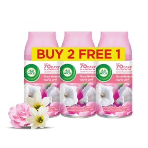[Value Pack] Air Wick Freshmatic Refill 250ml 2+1 – Fresh Water/Citrus/Cherry Blossom/Summer Delight/Sweet Lavender/Spring Delight/Floral Bouquet/Lavender