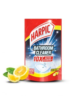Harpic Bathroom Cleaner Refill Pouch 700ml – Lemon / Rose