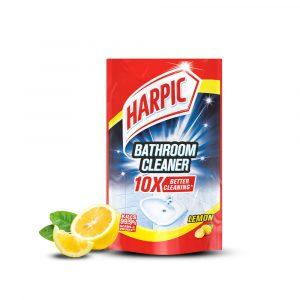 Harpic Bathroom Cleaner Refill Pouch 700ml – Lemon / Rose