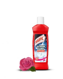 Harpic Bathroom Cleaner Bottle 450ml – Rose / Lemon
