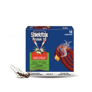 Shieldtox 10 hours Protek Mosquito Coil – 10pcs / 30pcs / 50pcs
