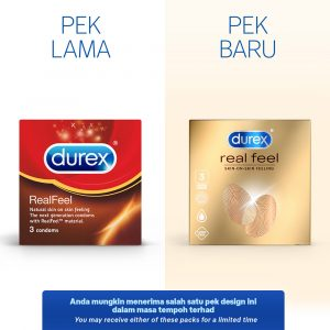Durex Real Feel 3's