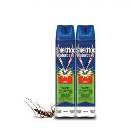[Twin Pack] Shieldtox Aerosol Spray (600ml x 2) – Waterbase / Protect Citrus / Mosquito