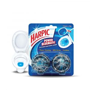 [Value Pack] Harpic Bluematic – 50g x 2