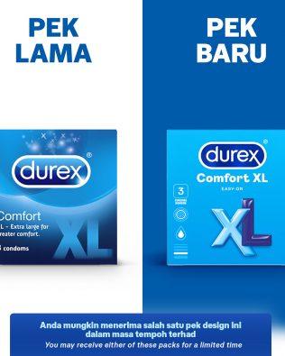 Durex Comfort XL 3's