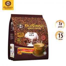 OLDTOWN White Coffee 3 in 1 Extra Rich Instant Premix White Coffee 35g x 15 sticks