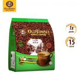 OLDTOWN White Coffee 3 in 1  Hazelnut Instant Premix White Coffee 38g x 15 sticks